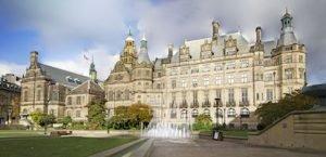 Sheffield Town Hall daytime